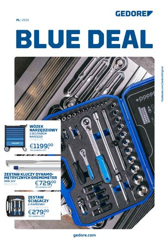 Gedore Blue Deal 2019